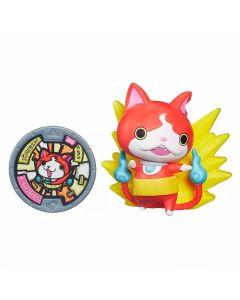 Boneco com Medalha Yo-Kai Watch Momentos Hasbro - Jibanyan