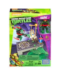 Mega Bloks Tartarugas Ninja Treino na Rua Mattel - Vermelho