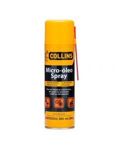 Micro-Óleo Spray 300Ml Collins - Amarelo