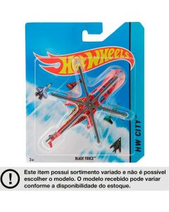 Mini Aviões Skybusters Hot Wheels HW City Mattel - SORTIDO