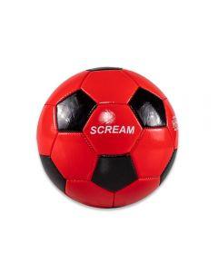 Mini Bola N2 Scream - Vermelho e Preto