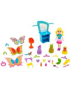 Mini Boneca Polly Pocket Transformação Borboleta Mattel - DIVERSOS