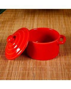 Mini Caçarola de Cerâmica - Scalla Cerâmica - GOIABA