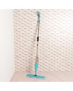 Mop Microfibra com Spray Solecasa - Verde Agua