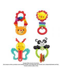 Chocalho Safari Animais Fisher-Price Mattel - DPK29