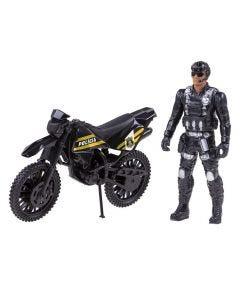 Moto E Boneco Tático Bs Toys - 514