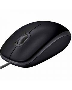 Mouse Com Fio Silencioso M110 Logitech - Preto