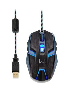 Mouse Gamer Warrior Ambidestro 4000DPI MO252 Multilaser - DIVERSOS