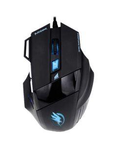 Mouse Óptico 2400DPI USB Black Hawk Frotrek OM703 - Preto