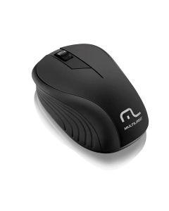 Mouse Sem Fio 2,4 GHz com USB Multilaser - Preto