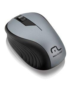 Mouse Sem Fio 2,4 GHz com USB Multilaser - Grafite
