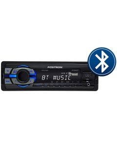 MP3 Player SP2310BT AM/FM USB Bluetooth Pósitron - 1 DIN