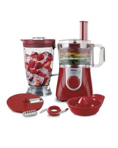 Multiprocessador All In One Citrus Vermelho Philco