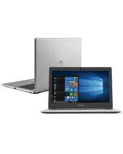 "Notebook 15.6"" Positivo Motion I3/4GB/1TB/Win10 - Prata"