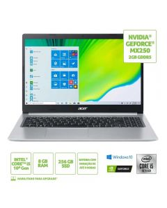 "Notebook Aspire 5 I5/8Gb/256Ssd/Win10 15,6"" Acer - Bivolt"