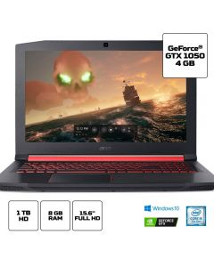 Notebook Aspire Nitro 5 i5/8GB/4GB/1TB/Win10 Acer - Preto