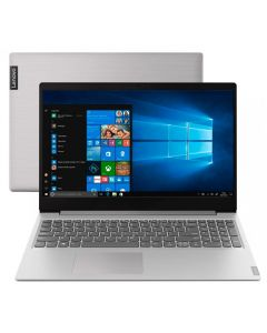 "Notebook Ideapad S145 Celeron/4GB/500GB/Win10 15,6"" Lenovo - Prata"