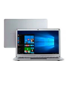 "Notebook Legacy Air Celeron/4GB/64GB/Win10 13,3"" Multilaser - Prata"