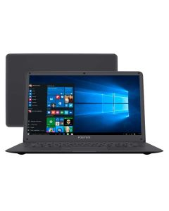 Notebook Positivo Motion Plus Quad-Core 4GB/32GB/Win10 - Deep Dark