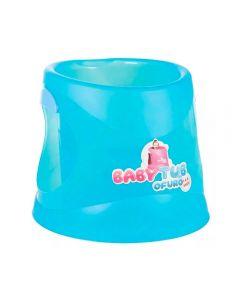 Ofurô 40Litros 1 Á 6 Anos Azul Translucida Baby Tub - Azul Translucida