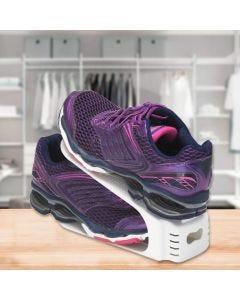 Organizador de Sapatos Double Arthi - Branco