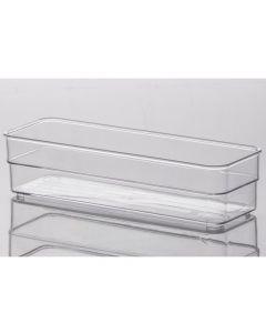Organizador Diamond 22,5cm x 7,5cm Paramount - Transparente