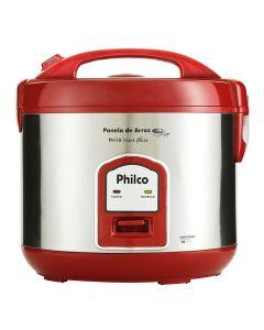 Panela de Arroz PH10 Visor Glass Vermelho Philco