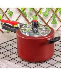 Panela de Pressão Grena 4,5 litros Clock - Red