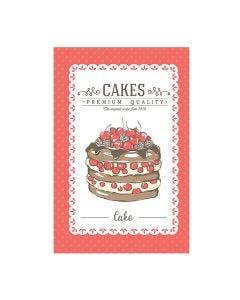 Pano de Copa 45x65cm Felpudo Döhler - Sweet Cakes