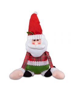 Papai Noel para Pendurar 45x24cm Havan - Vermelho