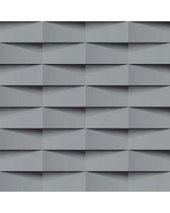 Papel De Parede 9,5M X 53Cm Havan - 3D Cinza