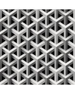 Papel De Parede 9,5M X 53Cm Havan - Preto e Branco