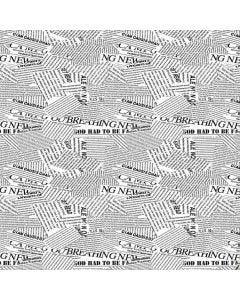 Papel De Parede 9,5M X 53Cm Havan - Jornal Preto