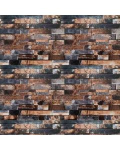 Papel De Parede Autocolante 0,53X9,5M Havan - Pedra Ferro