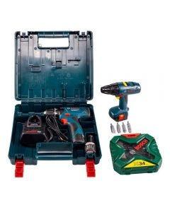 Parafusadeira Bosch GSB1200-2LI + Kit Brinquedo
