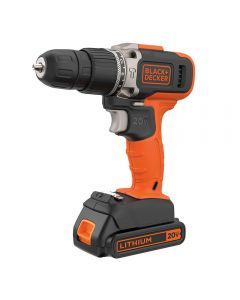 Parafusadeira de Impacto 20V Lítio BCD704C1 Black And Decker - Bivolt