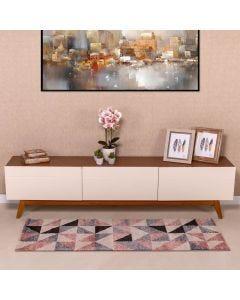 Passadeira Magnifique 67cm x 1,80m Havan - Rose