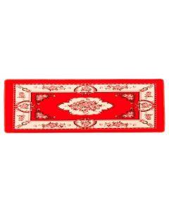 Passadeira Sevilha 60X1,80M Para Sala E Quarto  - Vermelho