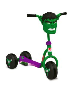 Patinete Hulk 3006 Bandeirante - Verde