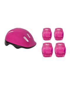 Patins Barbie 3 Rodas 7785-5 Fun - Rosa 29-32