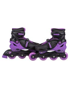 Patins In Line Com Led 36-39 BBR Toys - Roxo