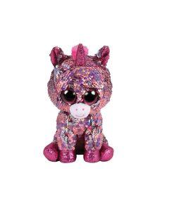 Pelúcia Beanie Boo's Paetê Médio 5010 DTC - Sparkle