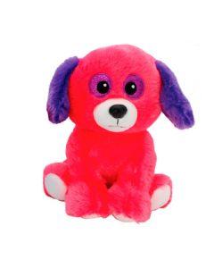 Pelúcia Cachorro Neon 25cm Bee Me Toys - Rosa