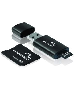 Pen Drive de 16GB 3 em 1 Classe 10 Multilaser MC112 - DIVERSOS