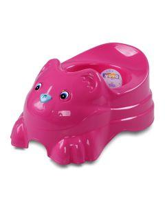 Peniquinho Botão Musical Capacidade 1,3 Litros Yoyo Baby - ROSA POP