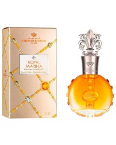 Perfume Feminino Marina de Bourbon Royal Diamond EDP 30ml - Dourado