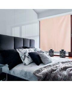 Persiana Rolo Blackout 1,60x1,60m Evolux - Creme