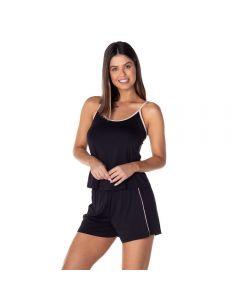 Pijama Curto em Poliamida Camila Moretti