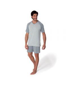 Pijama Curto Viscose Mash