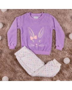 Pijama Feminino Coelho Yoyo Kids